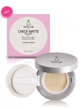 Youth Lab Check-Matte Solution Compact Case 12ml