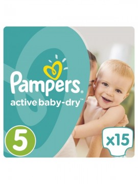 Pampers Active Baby Dry NO5 11-18KG (15τεμ)
