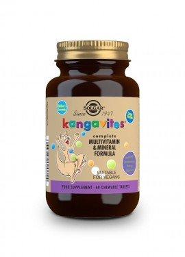 Solgar Kangavites Complete Multivitamin & Mineral Formula 60 chewable tabs berry flavour