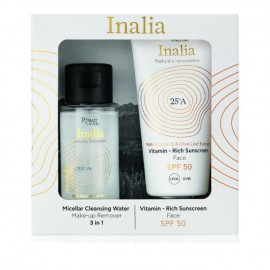 Power of Nature Inalia Vitamin - Rich Sunscreen Face SPF50 50 ml & Micellar Cleansing Water 50 ml