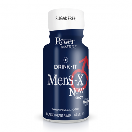 Power of Nature Drink it Mens X Now shot blackcurrant flavor 60 ml