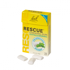 Power Health Bach Rescue Chewing Gum, Τσίχλες 25τμχ