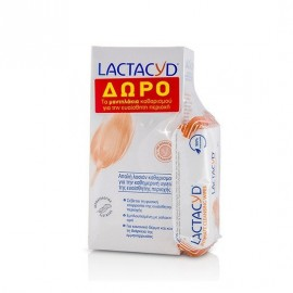 Lactacyd Intimate Lotion 300 ml & Δώρο Wipes 15 τμχ