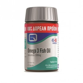 Quest Omega 3 Fish Oil concentrate 1000 mg 45 & 45 caps