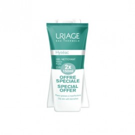 Uriage Promo Hyseac Cleansing gel combination to oily skin 2x150 ml