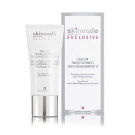 Skincode Cellular Protect & Perfect Tinted Moisturizer SPF15 30 ml