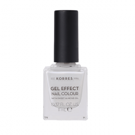 Korres Gel Effect Nail Colour 11 Coconut Smoothie 11 ml