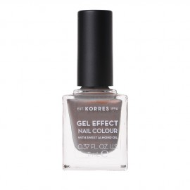 Korres Gel Effect Nail Colour With Sweet Almond Oil No.70 Holographic Ash 11ml