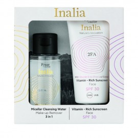 Power of Nature Inalia Vitamin - Rich Sunscreen Face SPF30 50 ml & Micellar Cleansing Water 50 ml